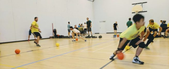 Adult co-ed rec dodgeball league in Saskatoon