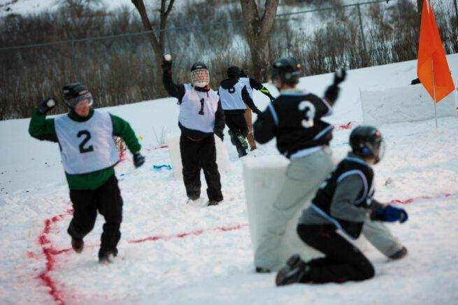 Yukigassen Saskatoon snowball fight tournament