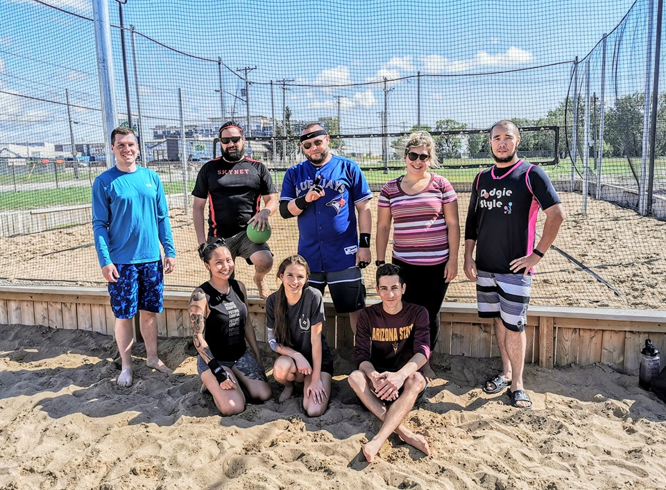 Beach dodgeball 2019 champions