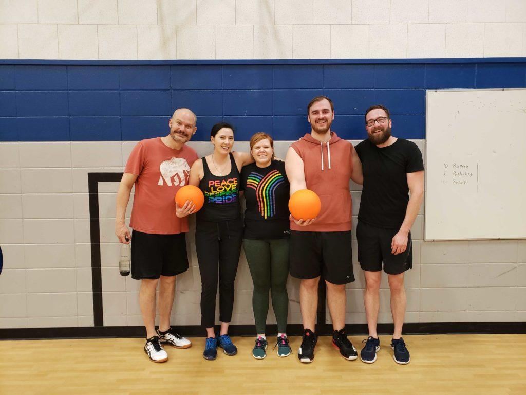 Dodgeball in Saskatoon