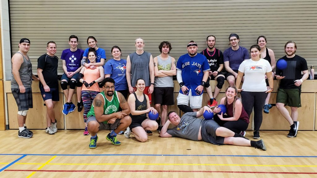 Adult co-ed rec dodgeball in Saskatoon